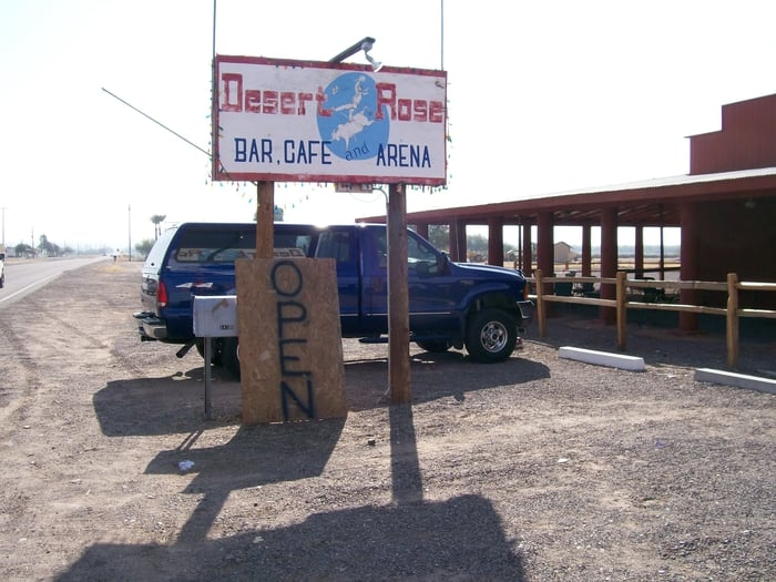 Desert Rose Bar and Grill: 18300 S Old US Hwy 80, Arlington, AZ