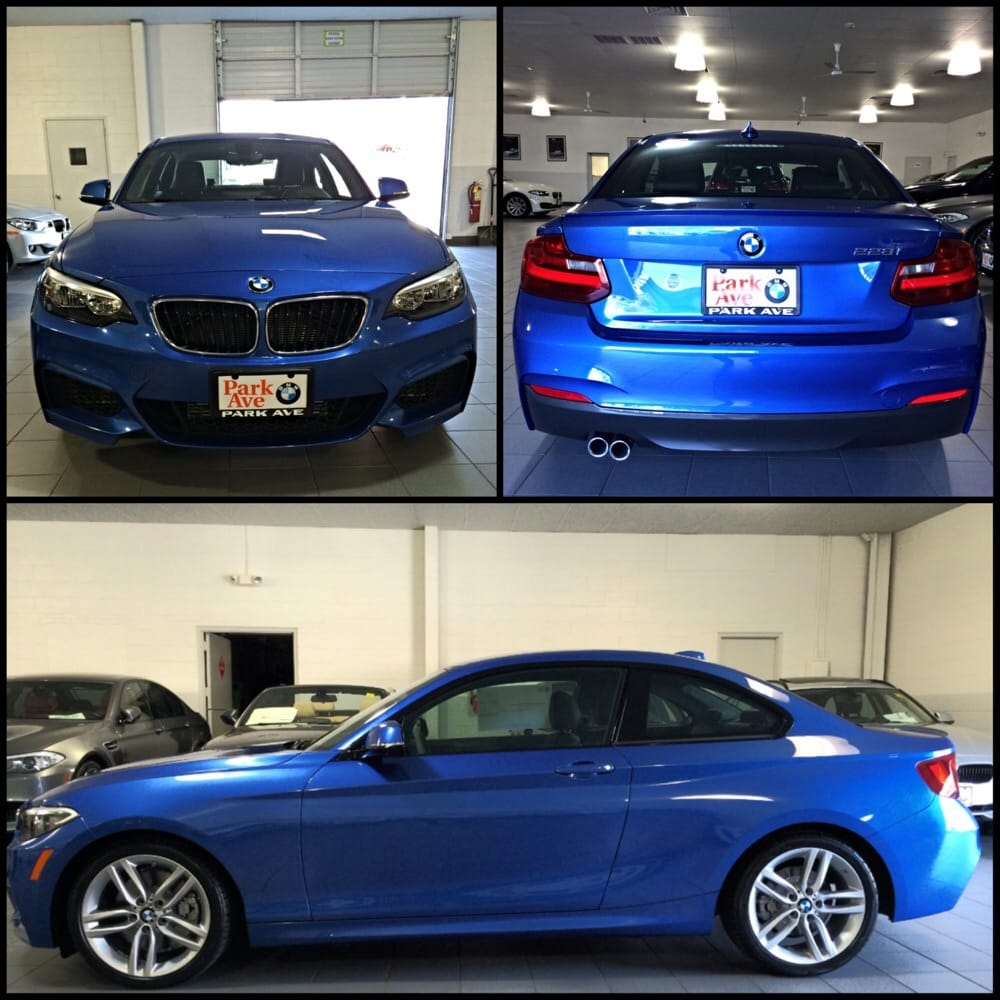 Nice BMW 228i Coupe M-Sport In Estoril Blue!