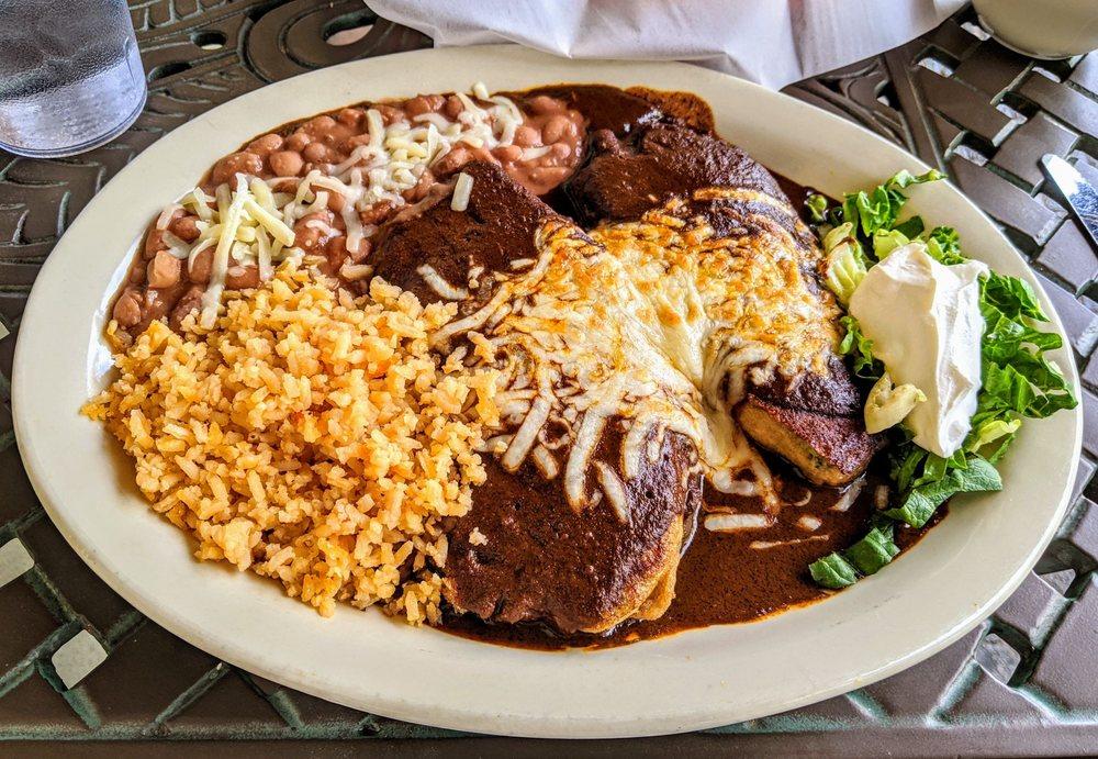 Azteca Mexican Grill: 122 Dona Luz St, Taos, NM