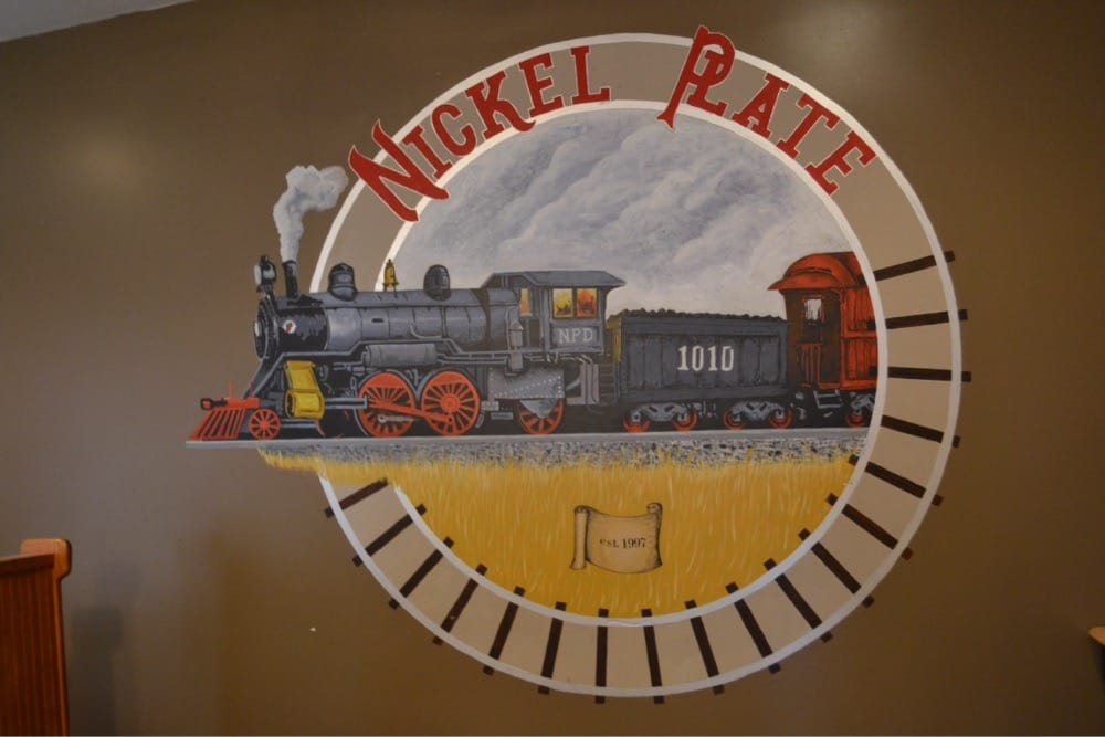 Nickel Plate Depot: 131 Central Ave, Brocton, NY
