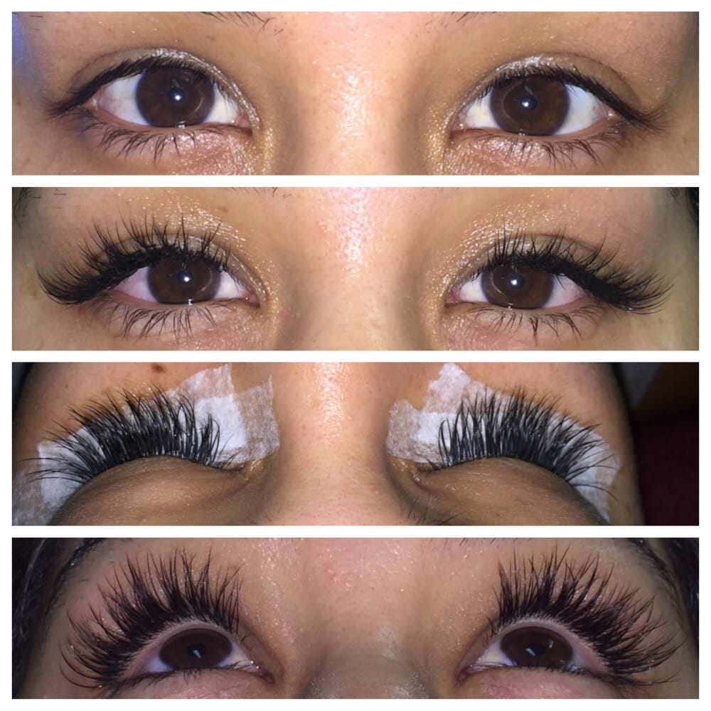 Beautiful Novalash Eyelash Extensions Classic Lashes American