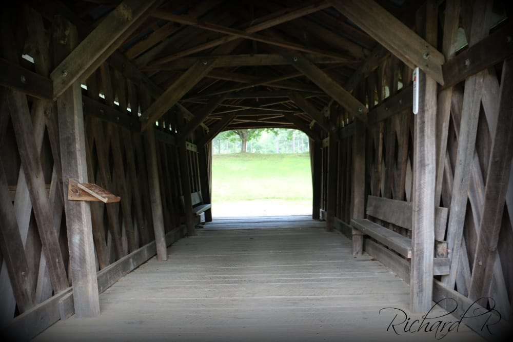 Shiloh Trail Covered Bridge: Davenport Mill Rd, Carrollton, GA
