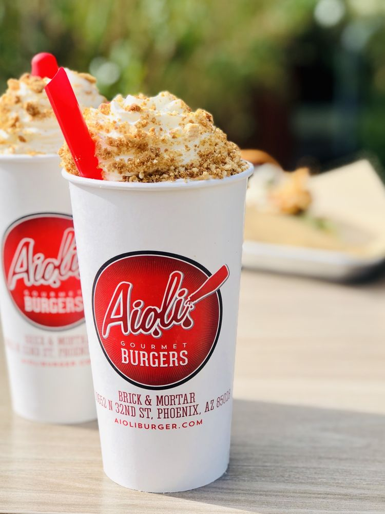 Aioli Gourmet Burger Fry's Marketplace: 13730 W Camelback Rd, Litchfield Park, AZ