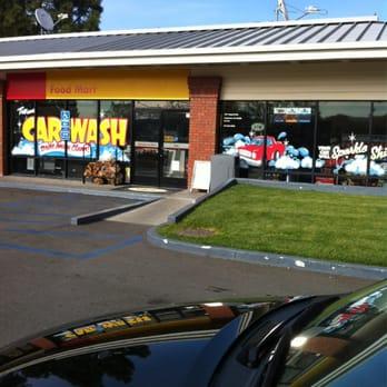 Irvine Gas Station Car Wash