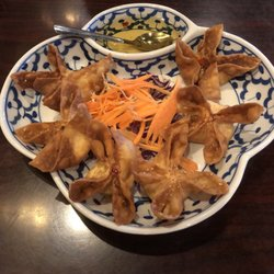Photo Of Best Thai Plano Tx United States Crab Rangoon S