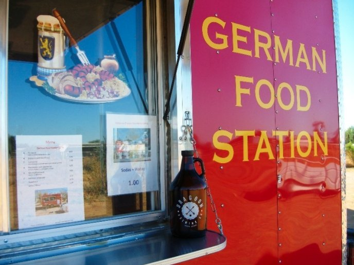 German Food Station: 6780 N Sandario Rd, Picture Rocks, AZ
