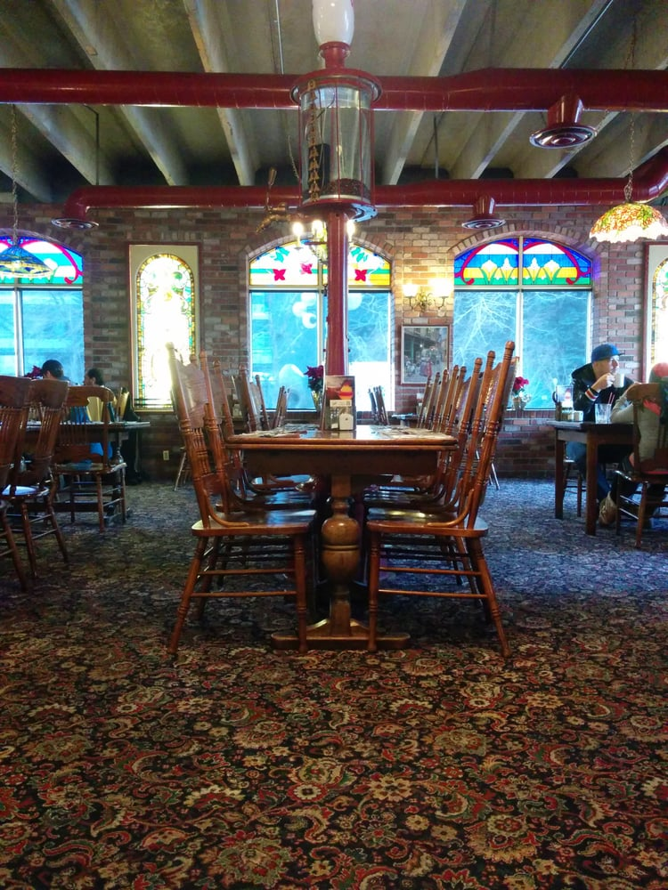 Vintage Setting Stained Glass Windows With A Vintage