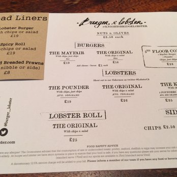 Burger & Lobster - 129 Photos & 59 Reviews - American (Traditional) - 109 - 125 Knightsbridge ...