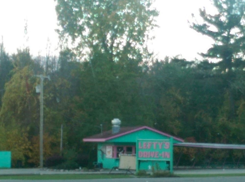 Leftys Drive In: 9505 Port Austin Rd, Bay Port, MI