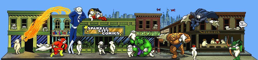 Sparkle City Comics: 680 Route 211 E, Middletown, NY
