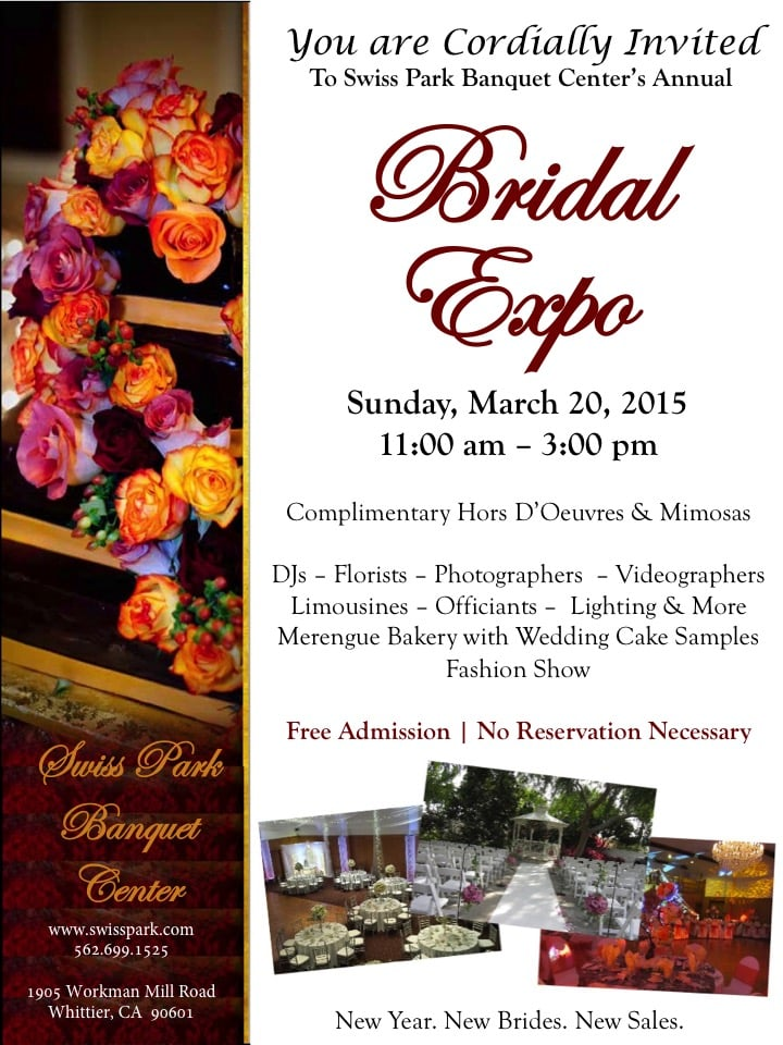 Don't miss out on our annual Bridal Expo! - Yelp