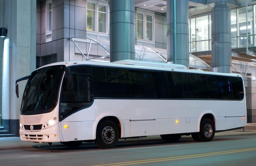 40 passenger 40 passenger mercedes benz limousine bus yelp for Mercedes benz des moines iowa