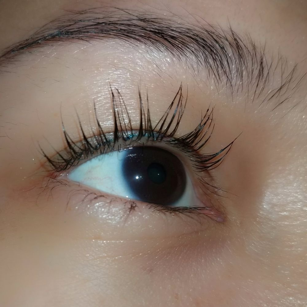 My Beautiful Clients Lash Lift And Tint A Mascara Look That Last