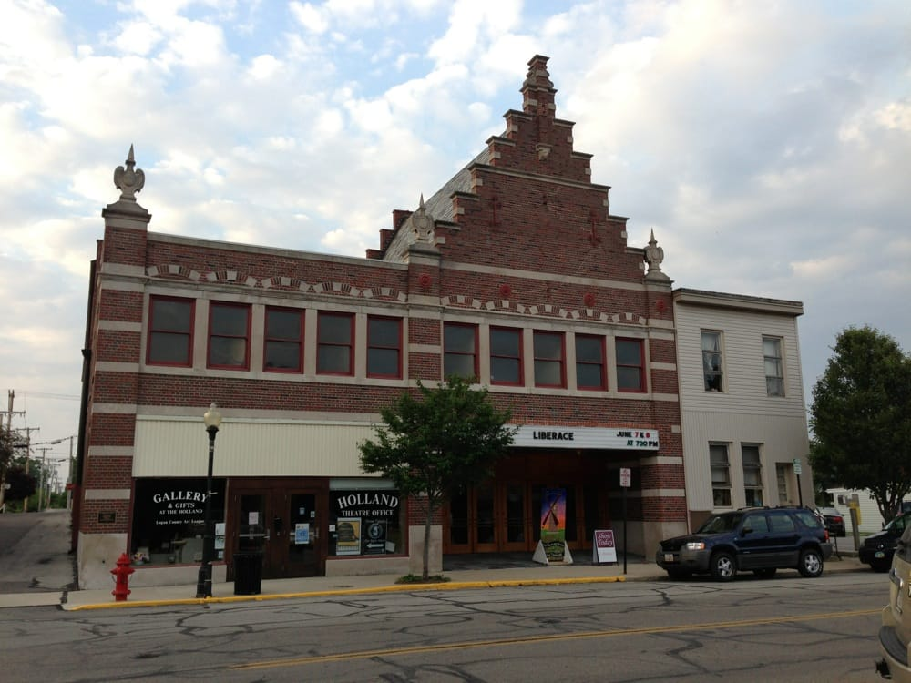 Holland Theatre: 127 E Columbus Ave, Bellefontaine, OH