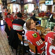 ... Photo Of Backyard Bistro   Raleigh, NC, United States. Lots Of Hawks  Fans