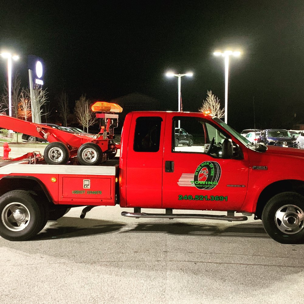Towing business in Temple Hills, MD
