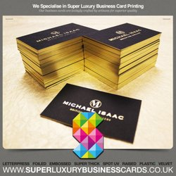Super luxury business cards get quote 26 photos printing super luxury business cards colourmoves
