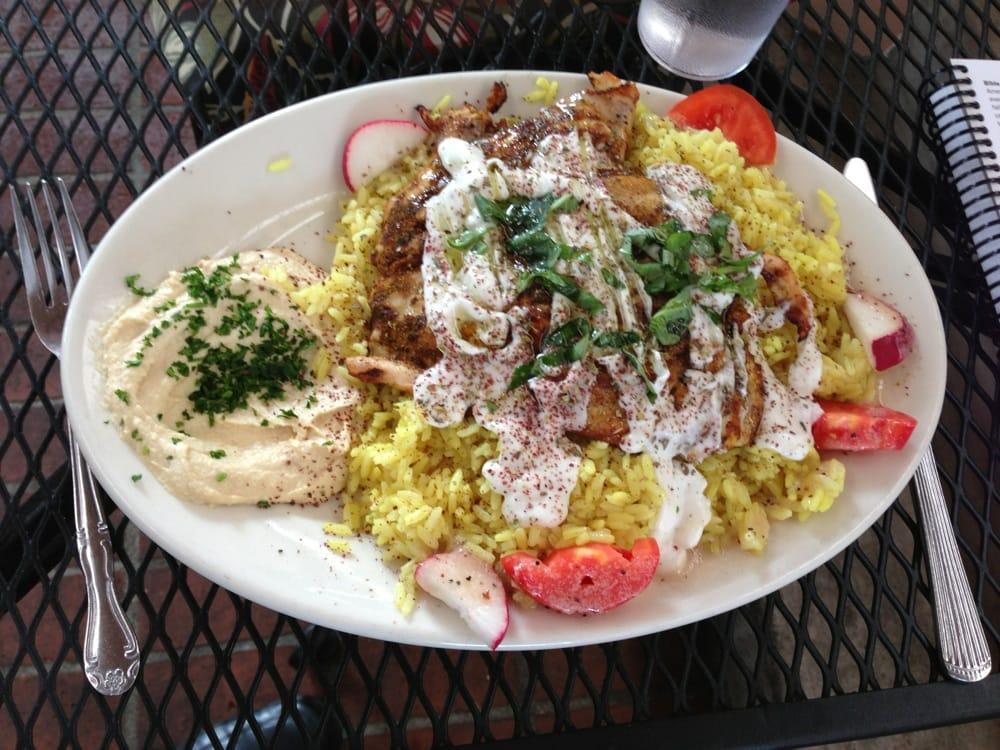 Algerian Chicken Special. Yum!