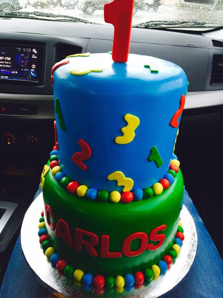 Nephews 1st Birthday Cake Yelp