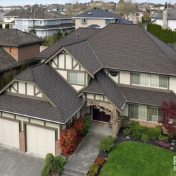 Photo Of Penfolds Roofing   Burnaby, BC, Canada. This Classic Tudor Style  Home