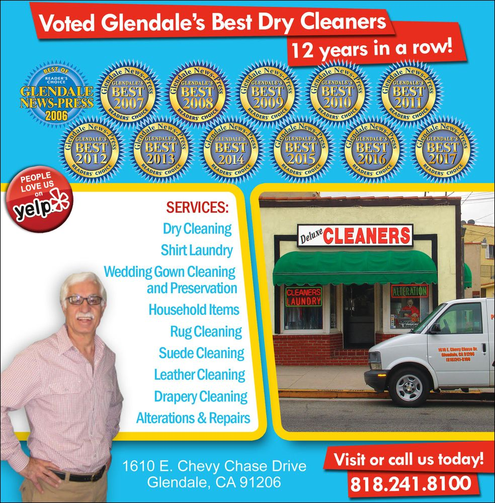 Chevy Chase Deluxe Cleaners