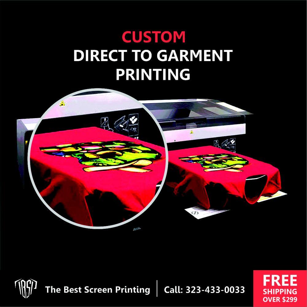 50ab0cc62 Custom Direct To Garment Printing Near Me - Santa Monica, CA - Los ...