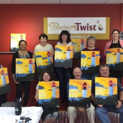 Painting With A Twist 22 Photos Paint Sip 1087 Washington
