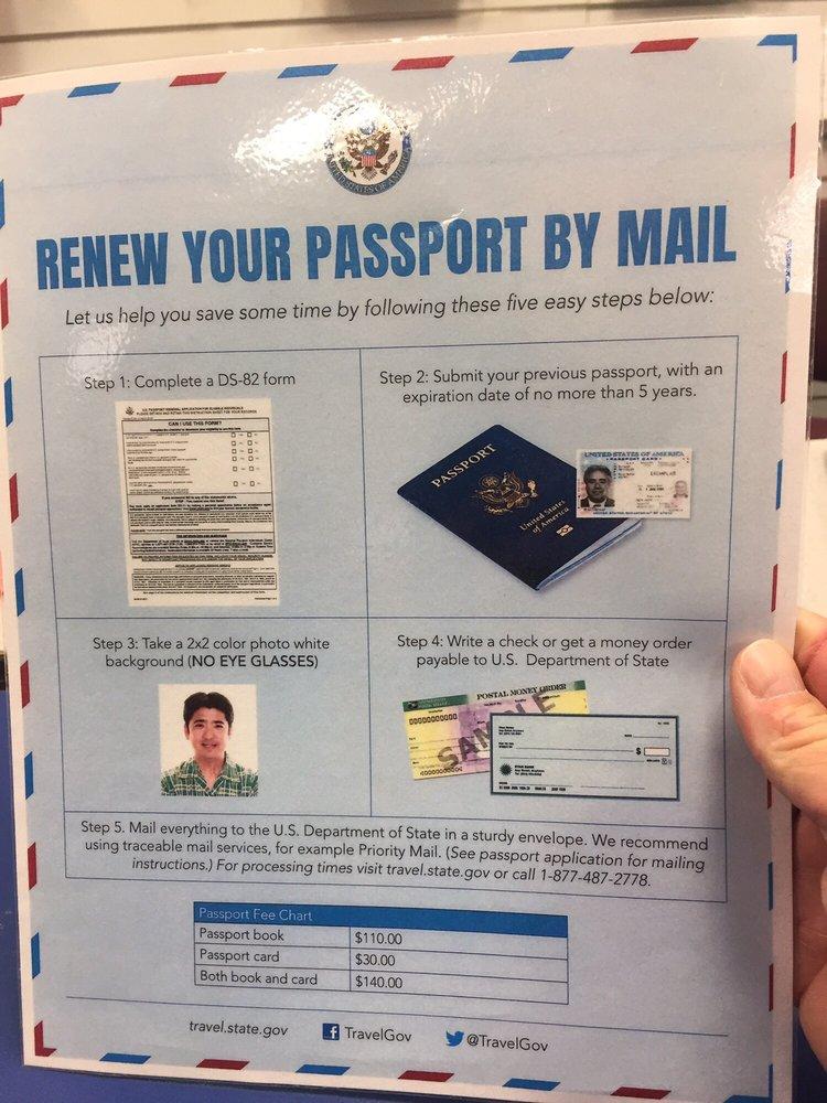 Mail Passport Application Yelp