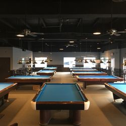 On Cue Sports Bar Grill Photos Pool Halls S Commerce - Pool table and bar near me