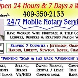 24/7 Mobile Notary Signing Agent & Courier Service By John Antho