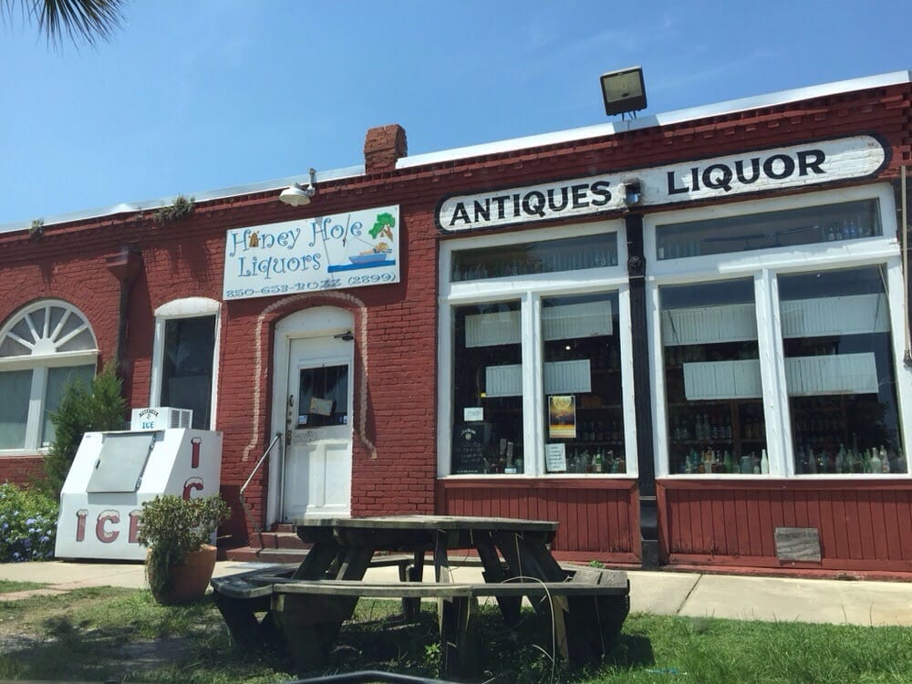 Honey Hole Liquors: 252 Water St, Apalachicola, FL