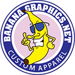Banana graphics grafisk design 21 brasseler blvd for T shirt printing for non profit organizations
