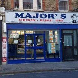 Majors Fast Food London