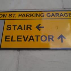 Houston Street Parking Garage logo
