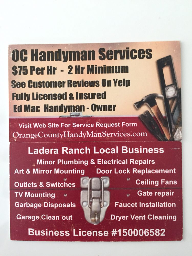 Orange County Handyman Services