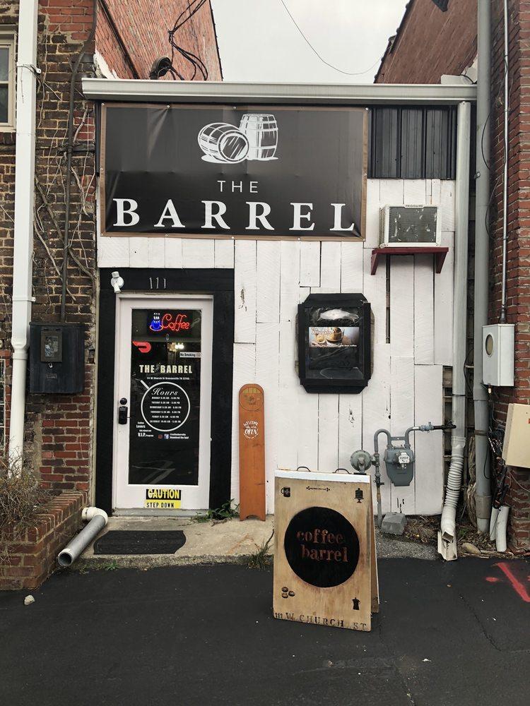 Coffee Barrel: 111 W Church St, Greeneville, TN