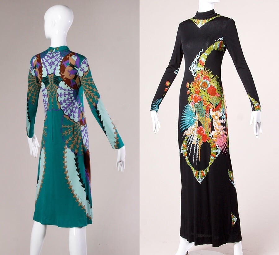 couture vintage clothing in reno nevada 1960s silk