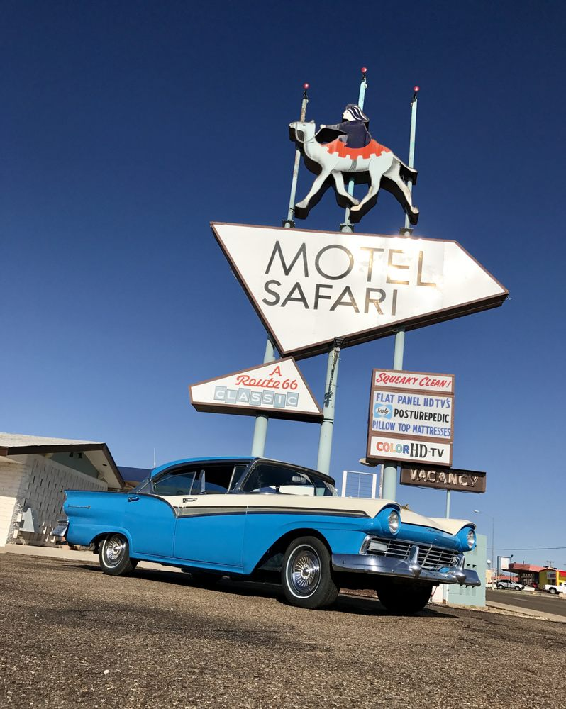 Motel Safari: 722 E Rte 66 Blvd, Tucumcari, NM