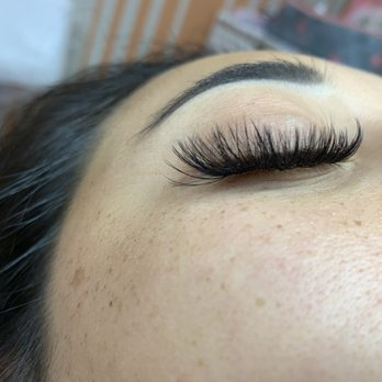 9098285177c Photo of Fluffy Lashes - Fountain Valley, CA, United States. Full lashes -