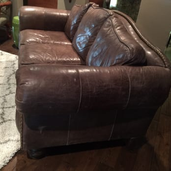 Photo Of Precision Leather Restoration   Dallas, TX, United States. Before