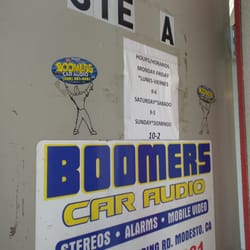 Boomers car audio modesto ca
