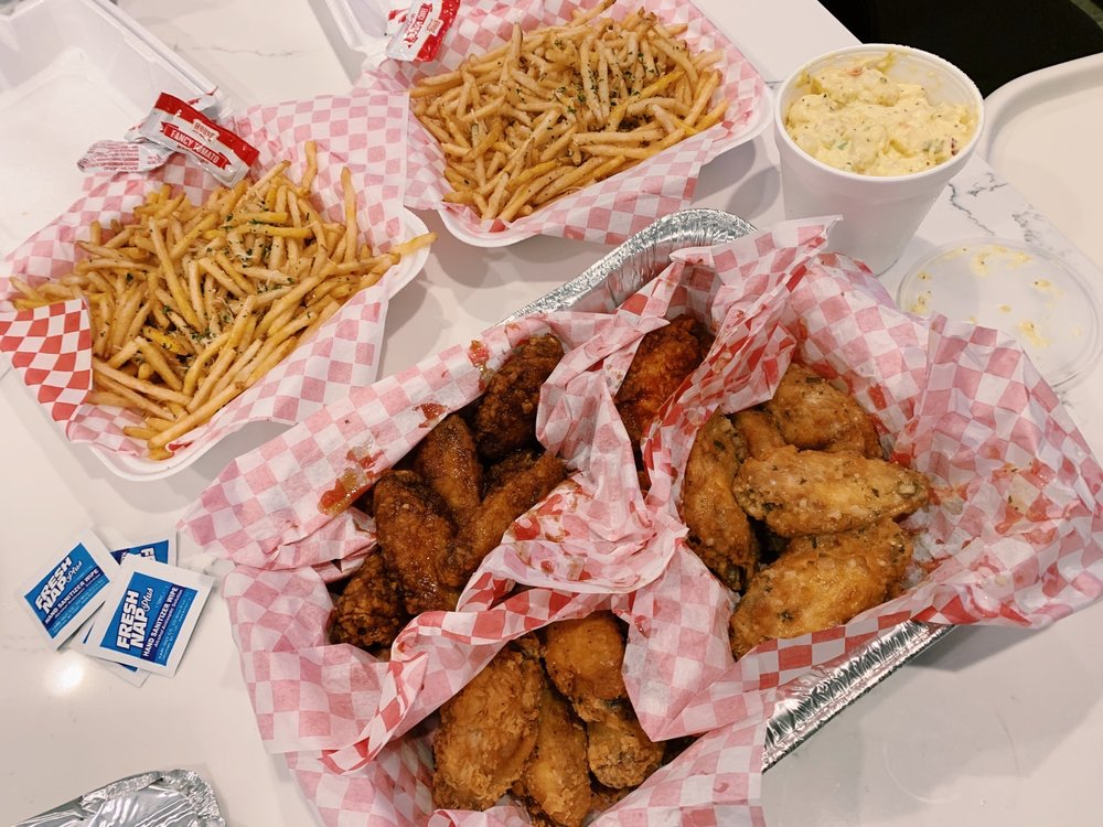 Food from The Chicken Shack