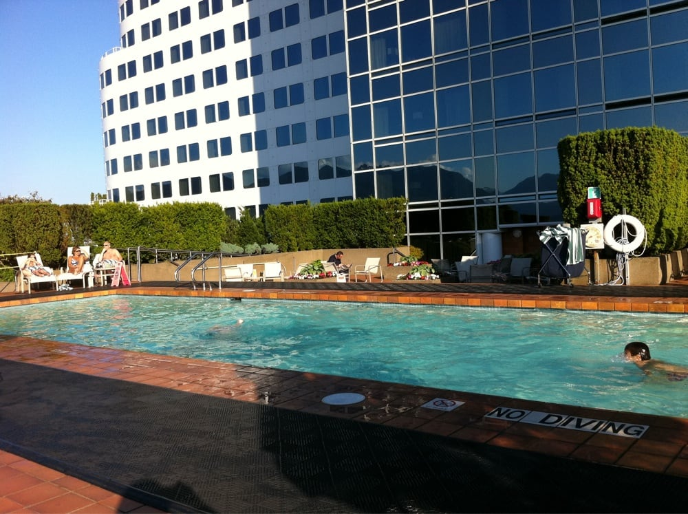 Swimming pool on the roof top of pan pacific hotel yelp - Pan pacific orchard swimming pool ...