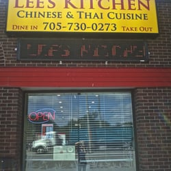 Lee\'s Kitchen Chinese & Thai Cuisine - Chinese - 346 Bayfield Street ...