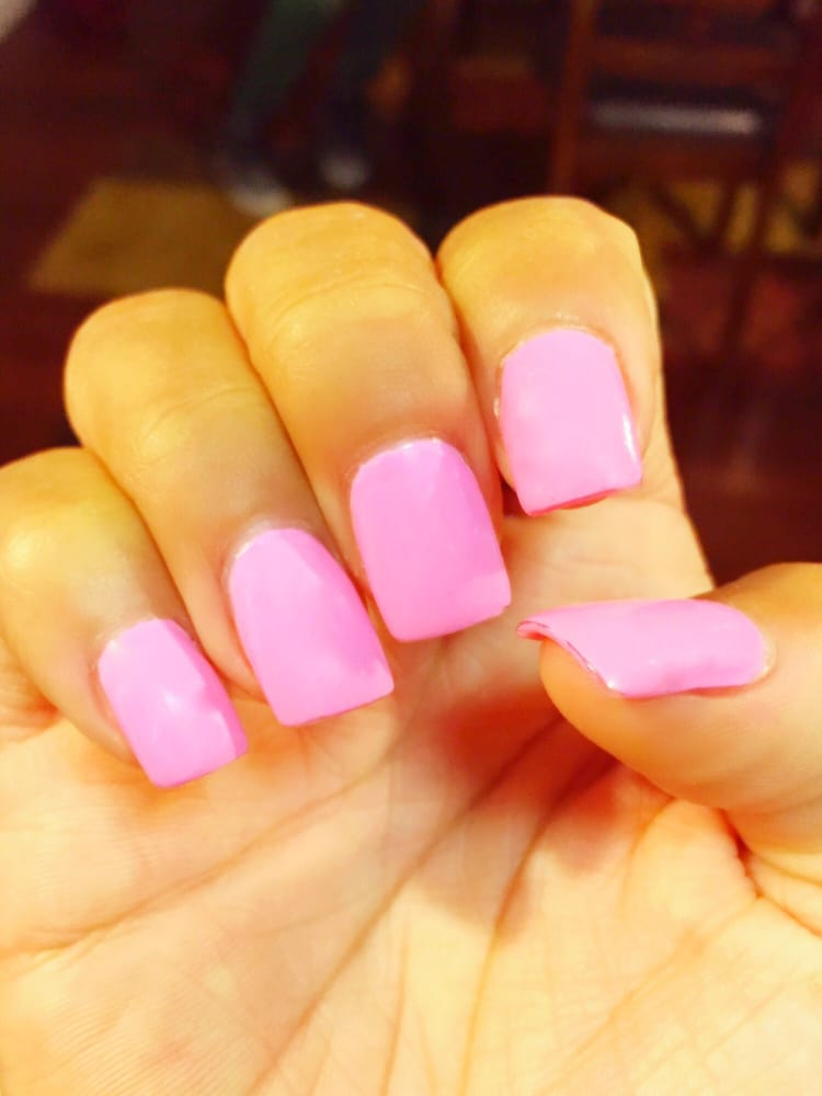 Thank you Teresa. I love my narrow square shaped acrylic nails. My ...