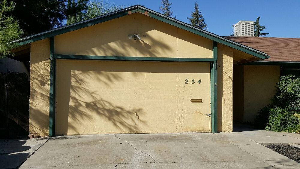 Photo Of Garage Door Doctor   Merced, CA, United States. Before Photo.