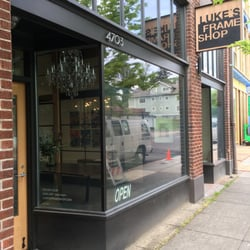 photo of lukes frame shop portland or united states