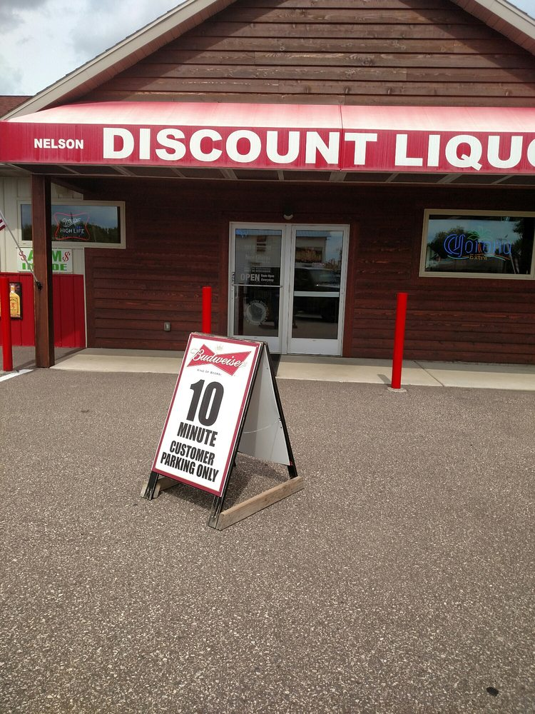 Nelson Discount Liquor: N205 N Main, Nelson, WI