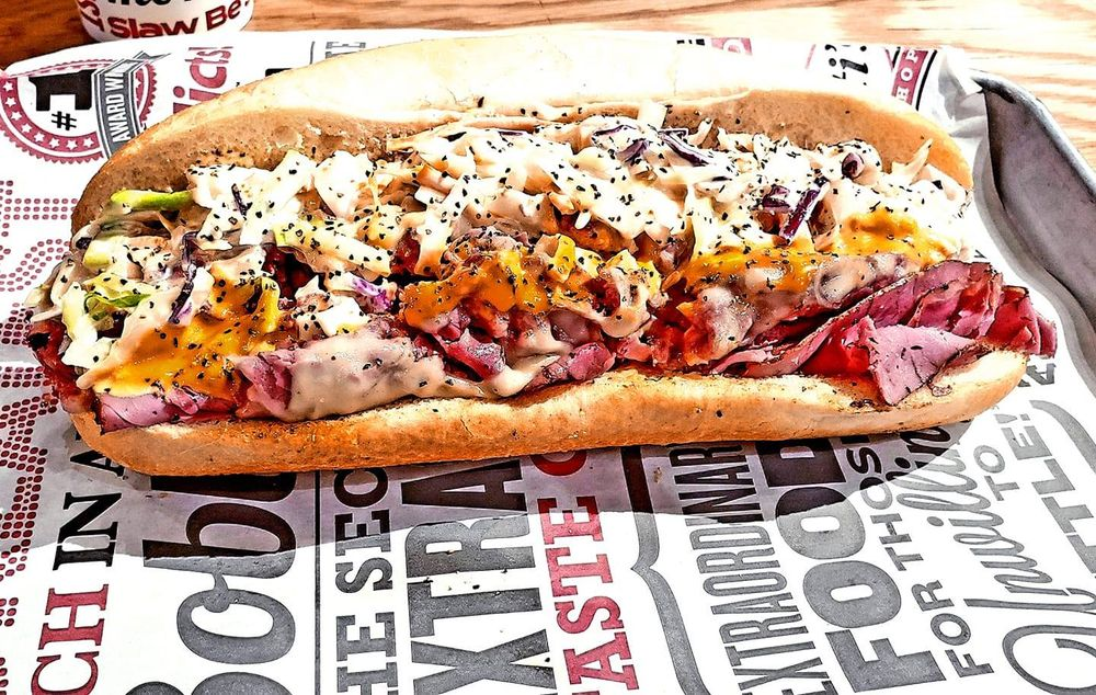 Food from Capriotti's Sandwich Shop