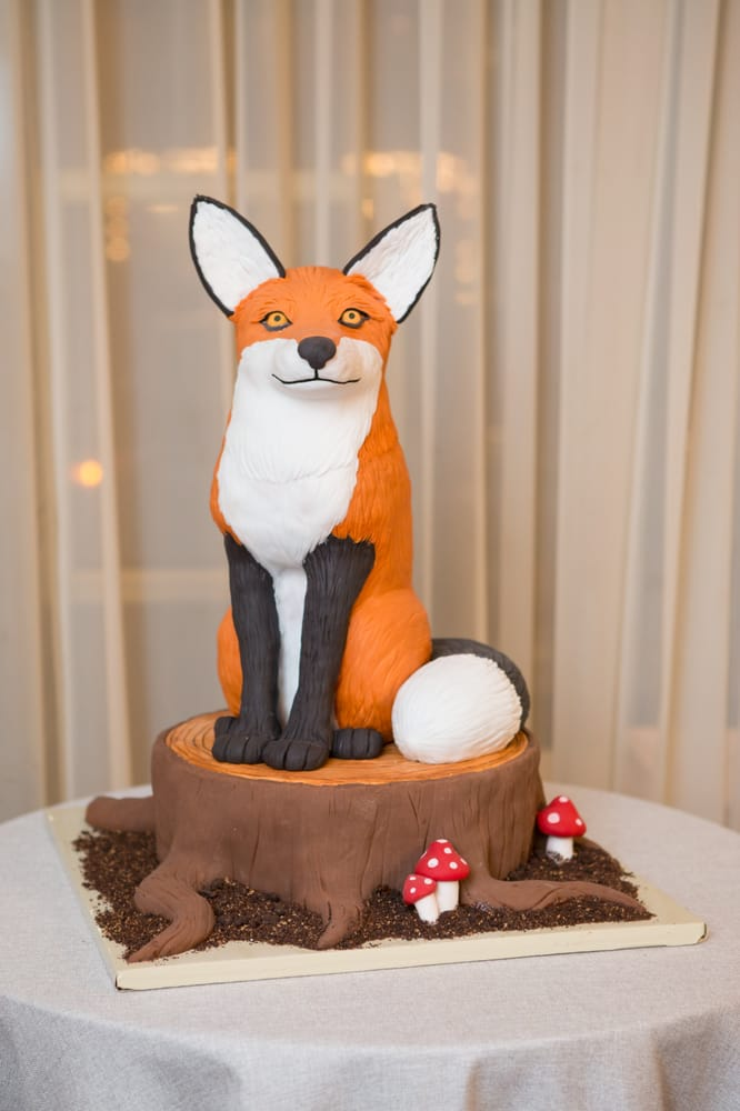 Fox For Cake First